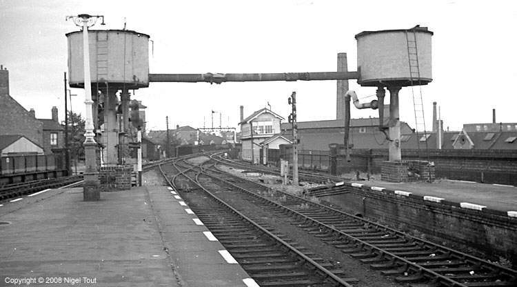 Leicester Central station, looking north
