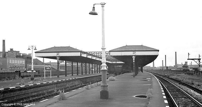 Leicester Central station platforms, GCR