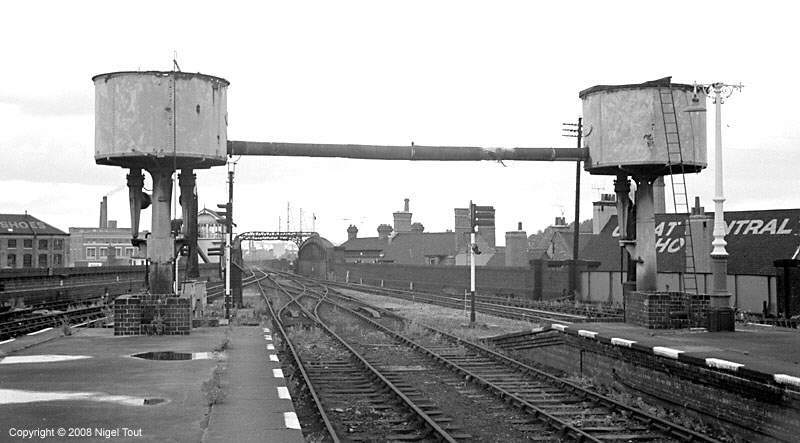 Leicester Central station looking north