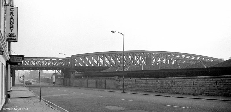 GCR bridge over Nottingham Midland station