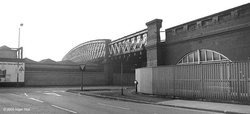 Bridge over Station Street, GCR, Nottingham