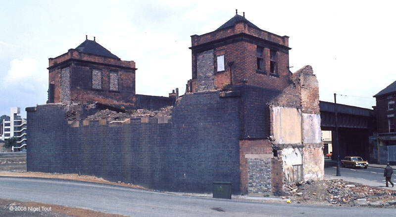 GCR Arkwright Street station, Nottingham, demolished