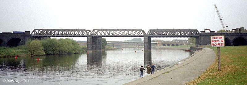 GCR River Trent bridge, demolition, Nottingham