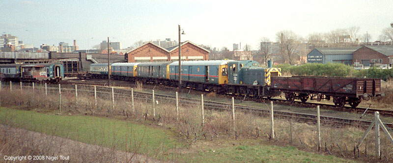 DMUs for Berry's scrapyard, Leicester GCR