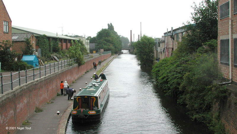 Grand Union Canal, at Northgate Street, Leicester
