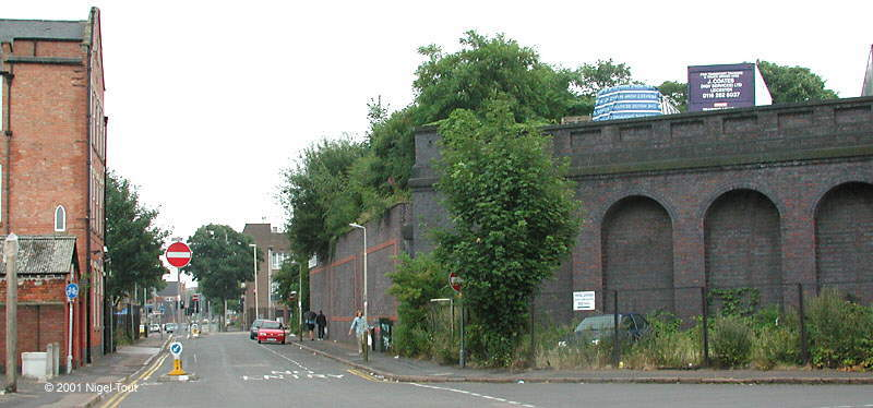GCR viaduct, Soar Lane, Leicester