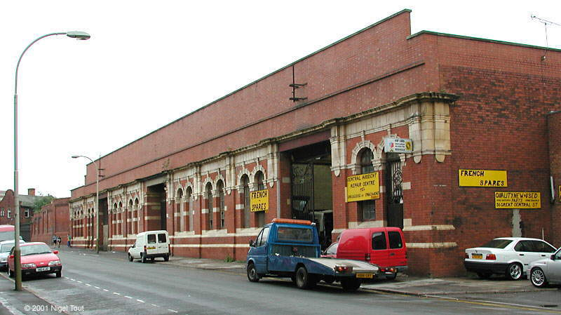 Leicester Central Station before redevelopment