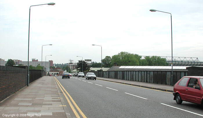 Upperton Road bridge over ex-Great Central Railway, Leicester