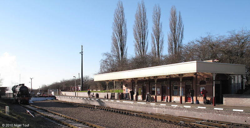 Leicester North station, Great Central Railway