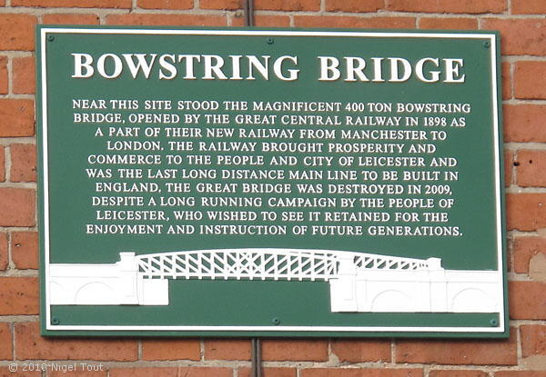 The Bowstring commemorative plaque