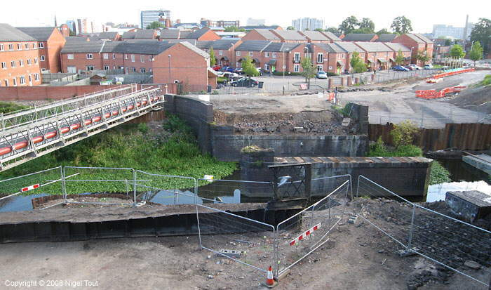 Upperton Road, Leicester, GCR viaduct demolition