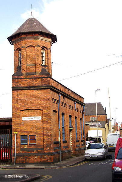 Great Central generator house, Leicester