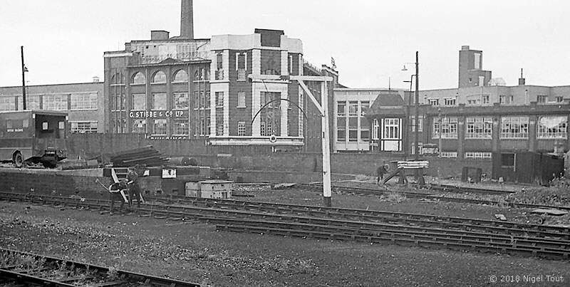 Leicester Central station, removing track of sidings
