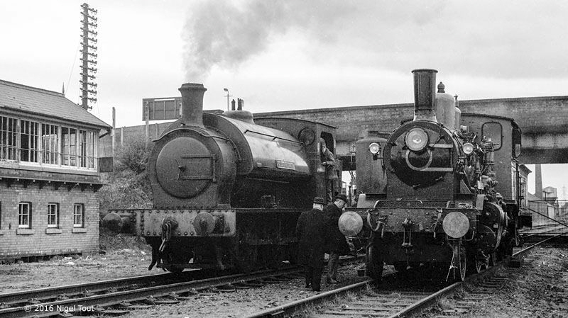 Loughborough Central, footplate-ride, King Haakon VII, 1973