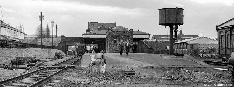 Loughborough Central, GCR, 1973