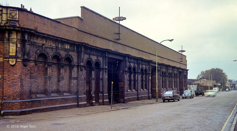 Leicester Central station front