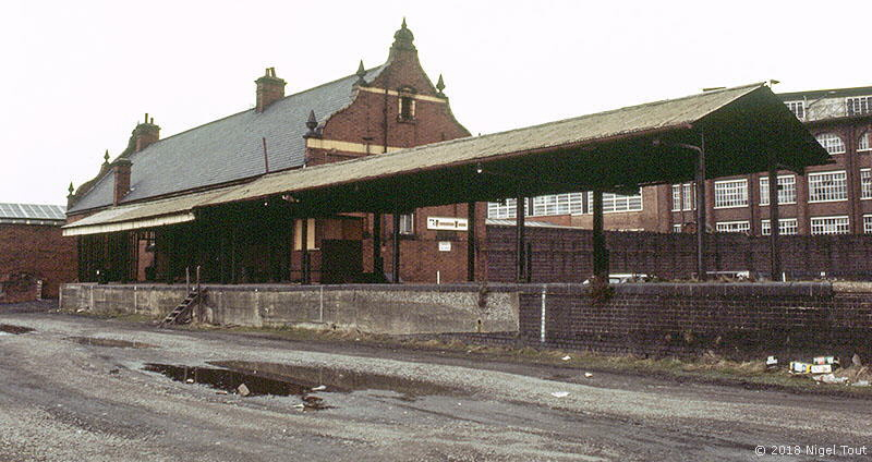 Leicester Central stationparcels dock