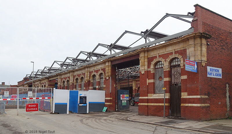 Leicester Central Station redevelopment