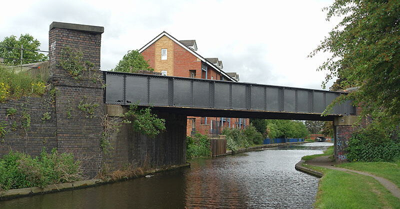 GCR canal bridge with parapet refurbishment started