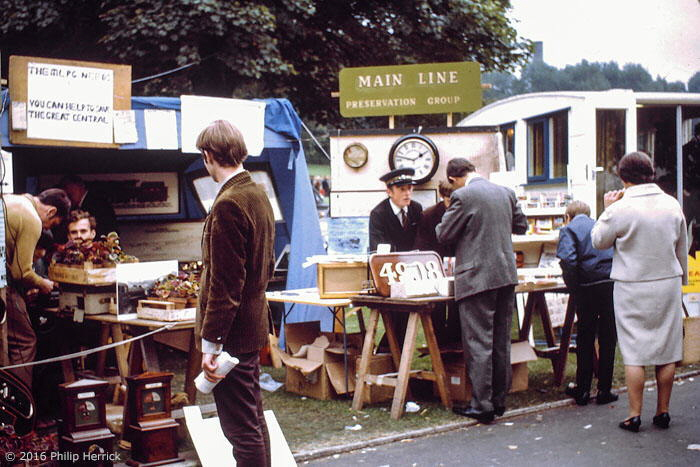 MLPG stand at Abbey Park Show, Leicester, 1969