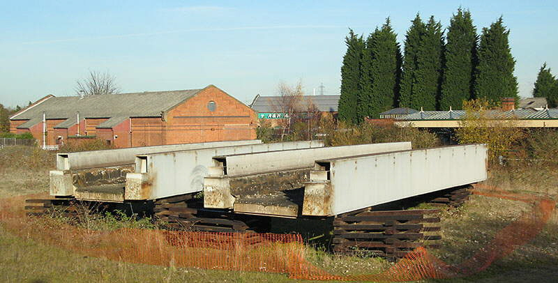 Bridges from Reading to be used over Railway Terrace for GCR Bridging the Gap